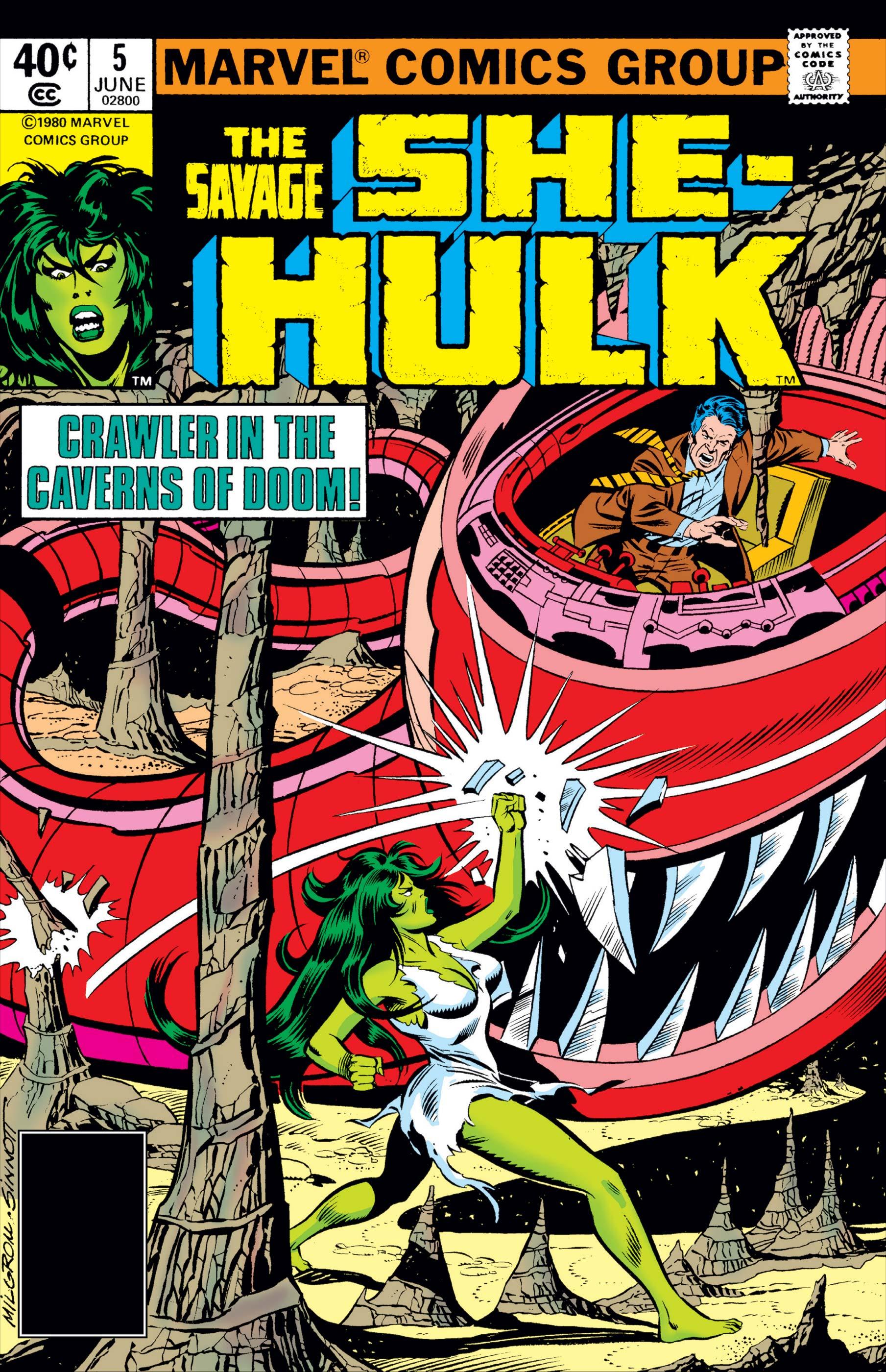 Savage She-Hulk (1980) #5