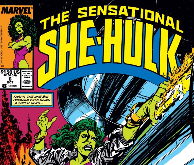 Cover for SENSATIONAL SHE-HULK 6