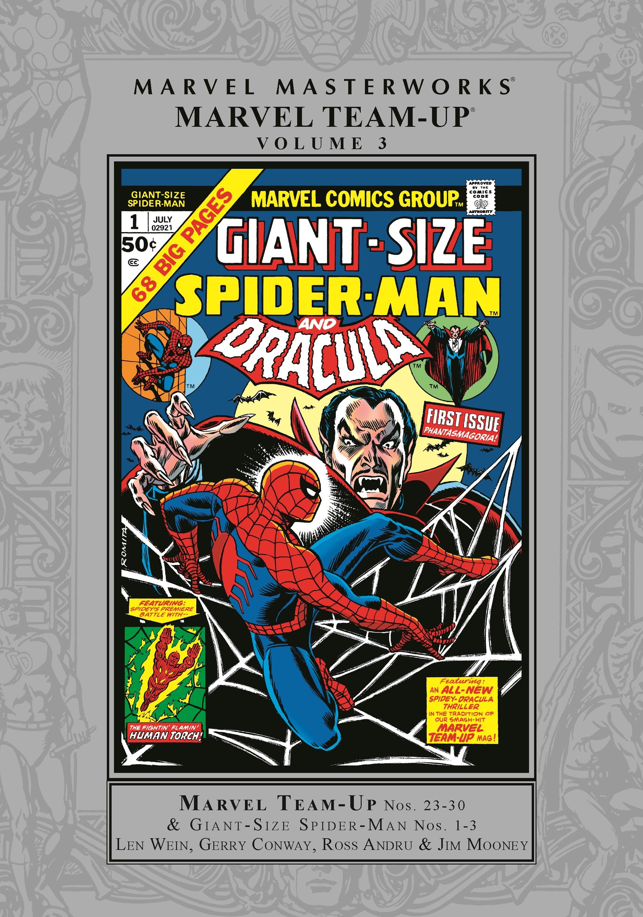 Marvel Masterworks: Marvel Team-Up Vol. 3 (Hardcover)