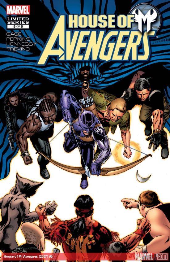 House of M: Avengers (2007) #5