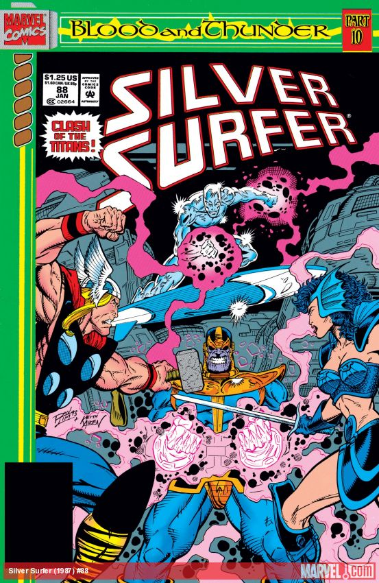 Silver Surfer (1987) #88