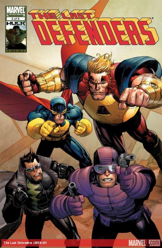 The Last Defenders (2008) #3