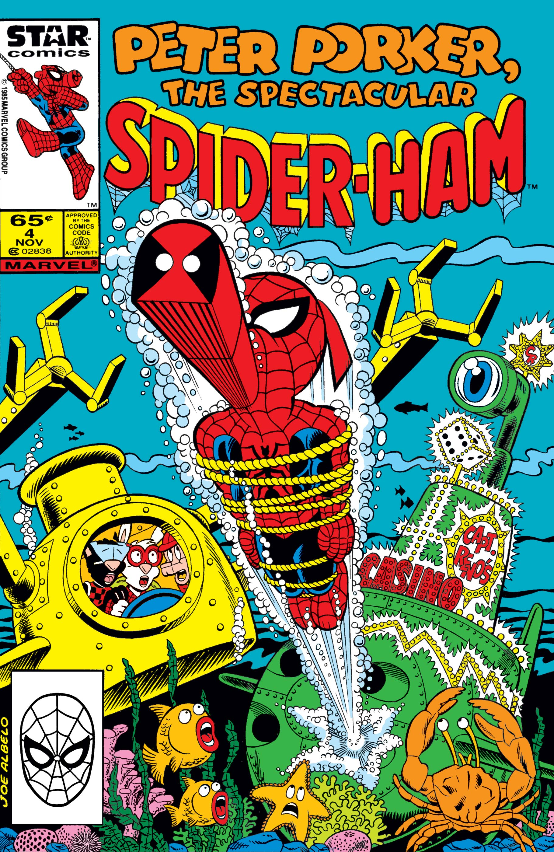 Peter Porker, the Spectacular Spider-Ham (1985) #4