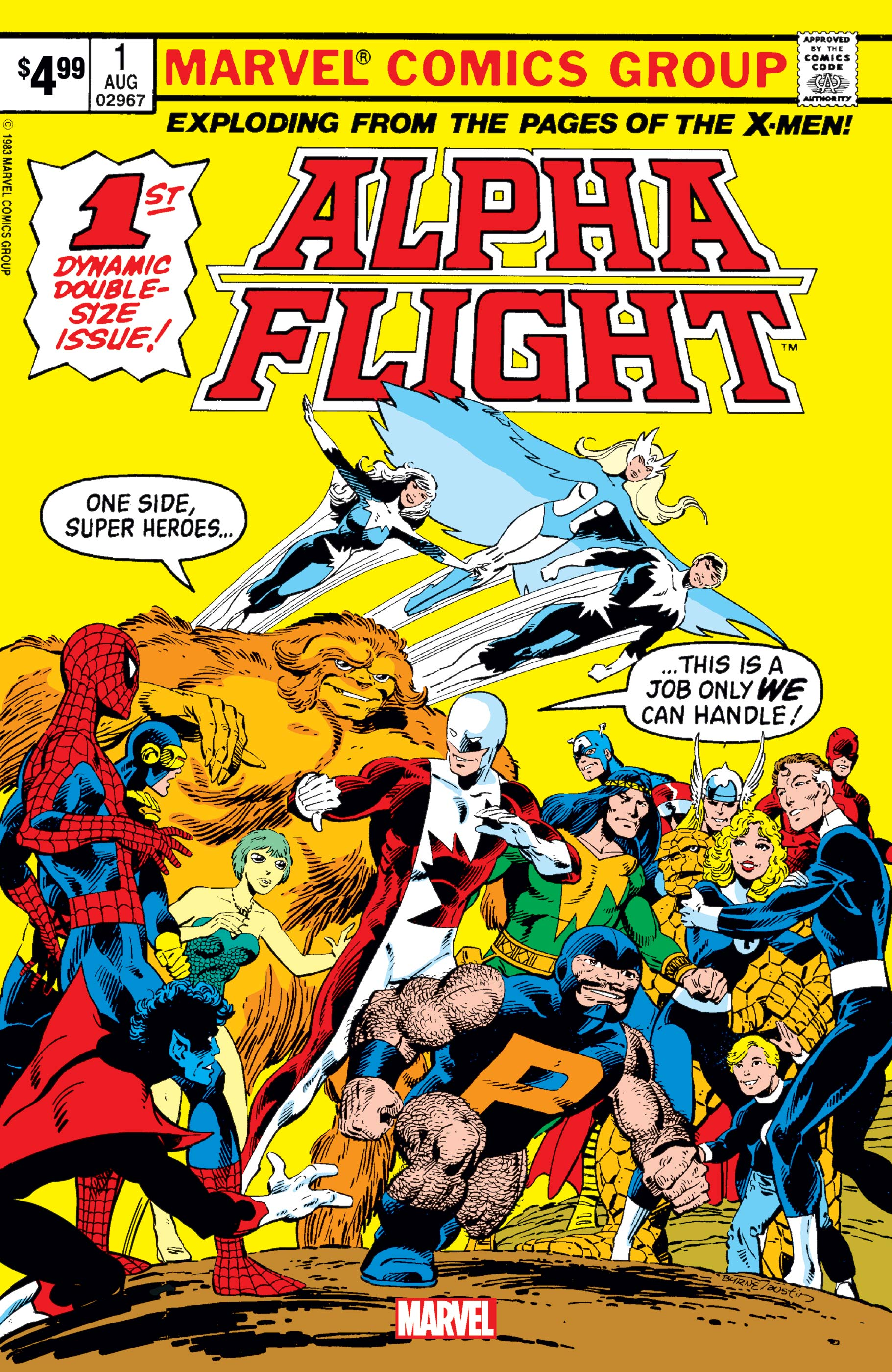 Alpha Flight Facsimile Edition (2019) #1