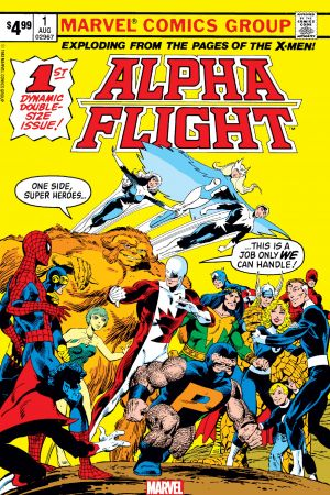 Alpha Flight Facsimile Edition #1