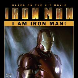 IRON MAN: I AM IRON MAN! #1 Cover by Adi Granov