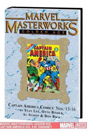 Marvel Masterworks: Golden Age Captain America Vol. 4 (Variant) (Hardcover)
