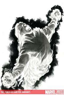 Torch (2009) #1 (SKETCH VARIANT)