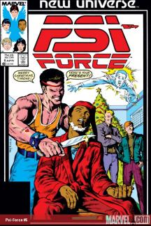 Psi-Force (1986) #6