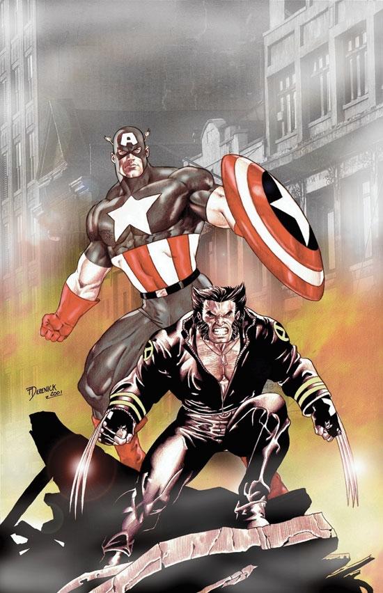 Wolverine/Captain America (2004) #1