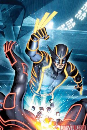Wolverine (2010) #4 (TRON VARIANT)