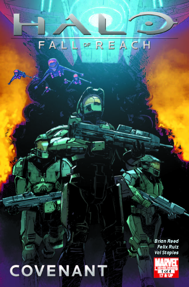 Halo: Fall of Reach - Covenant (2010) #1