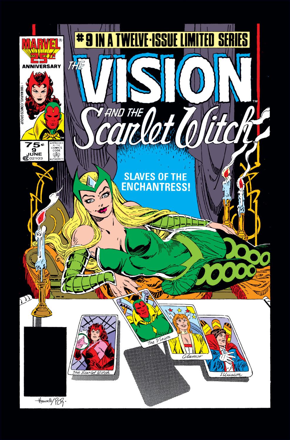 Vision and the Scarlet Witch (1985) #9