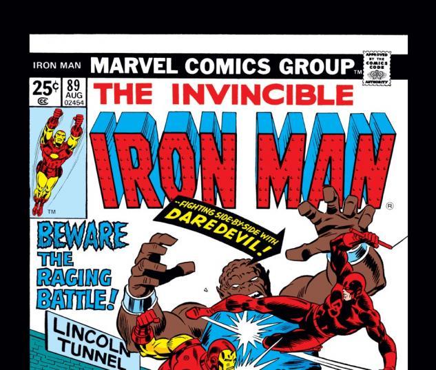 Iron Man (1968) #89 Cover