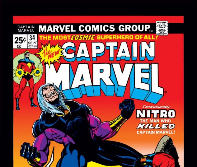 Captain Marvel (1968) #34 Cover