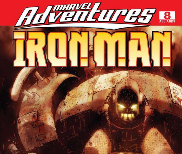 Marvel Adventures Iron Man (2007) #8