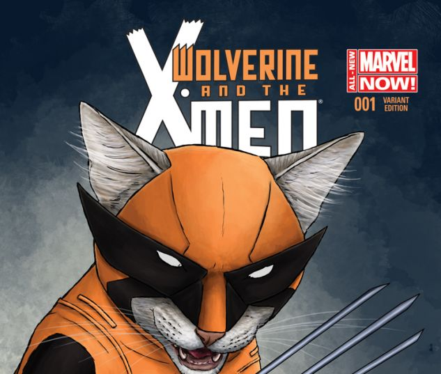 WOLVERINE & THE X-MEN 1 PARKS ANIMAL VARIANT (ANMN, WITH DIGITAL CODE)