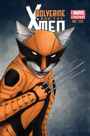 Wolverine & the X-Men (2014) #1 (Parks Animal Variant)