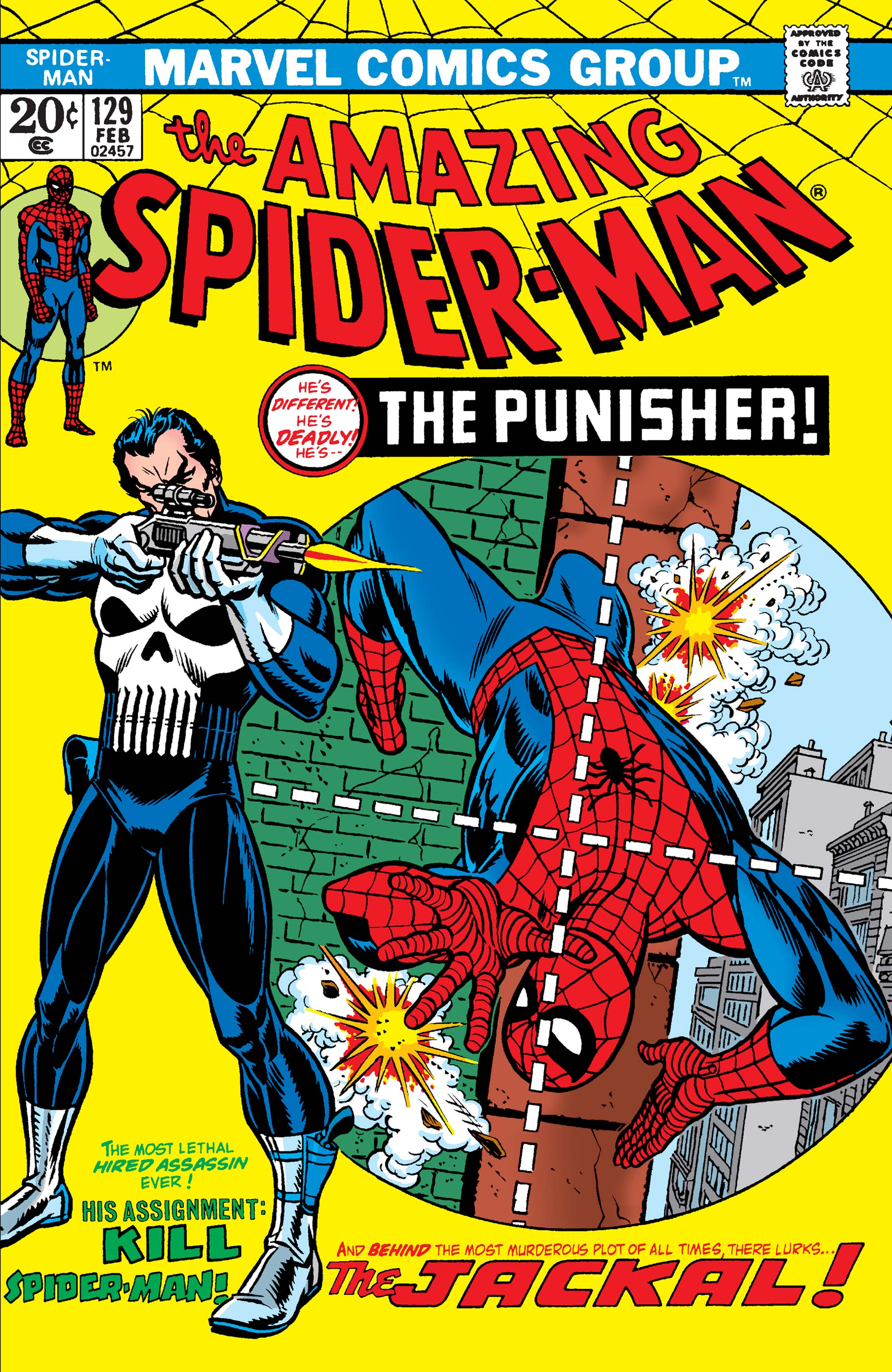 The Amazing Spider-Man (1963) #129