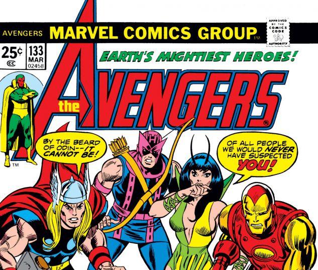 AVENGERS (1963) #133