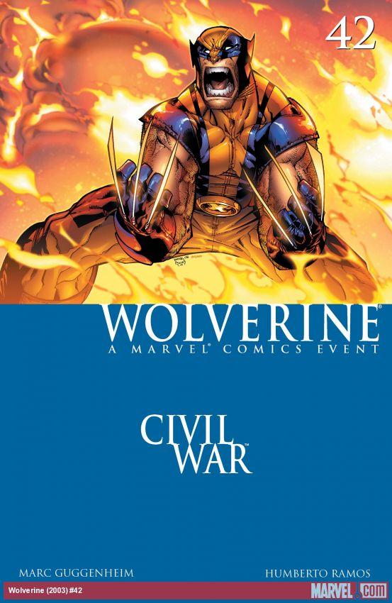 Wolverine (2003) #42