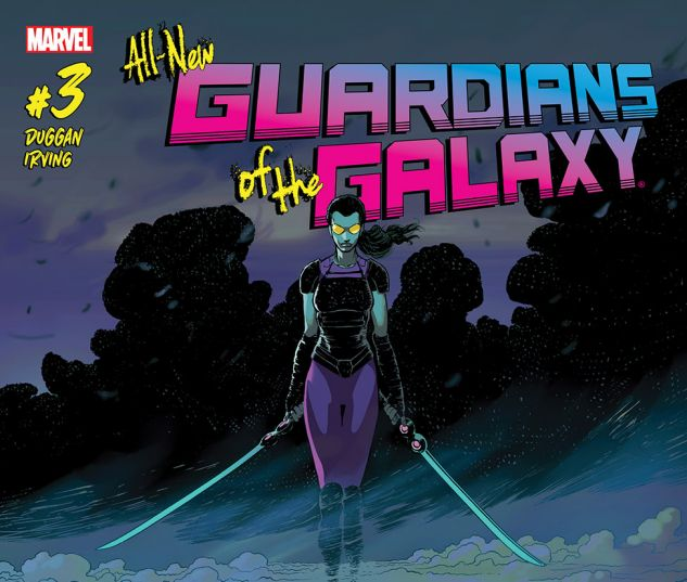 cover from Guardians of the Galaxy (2015) #3