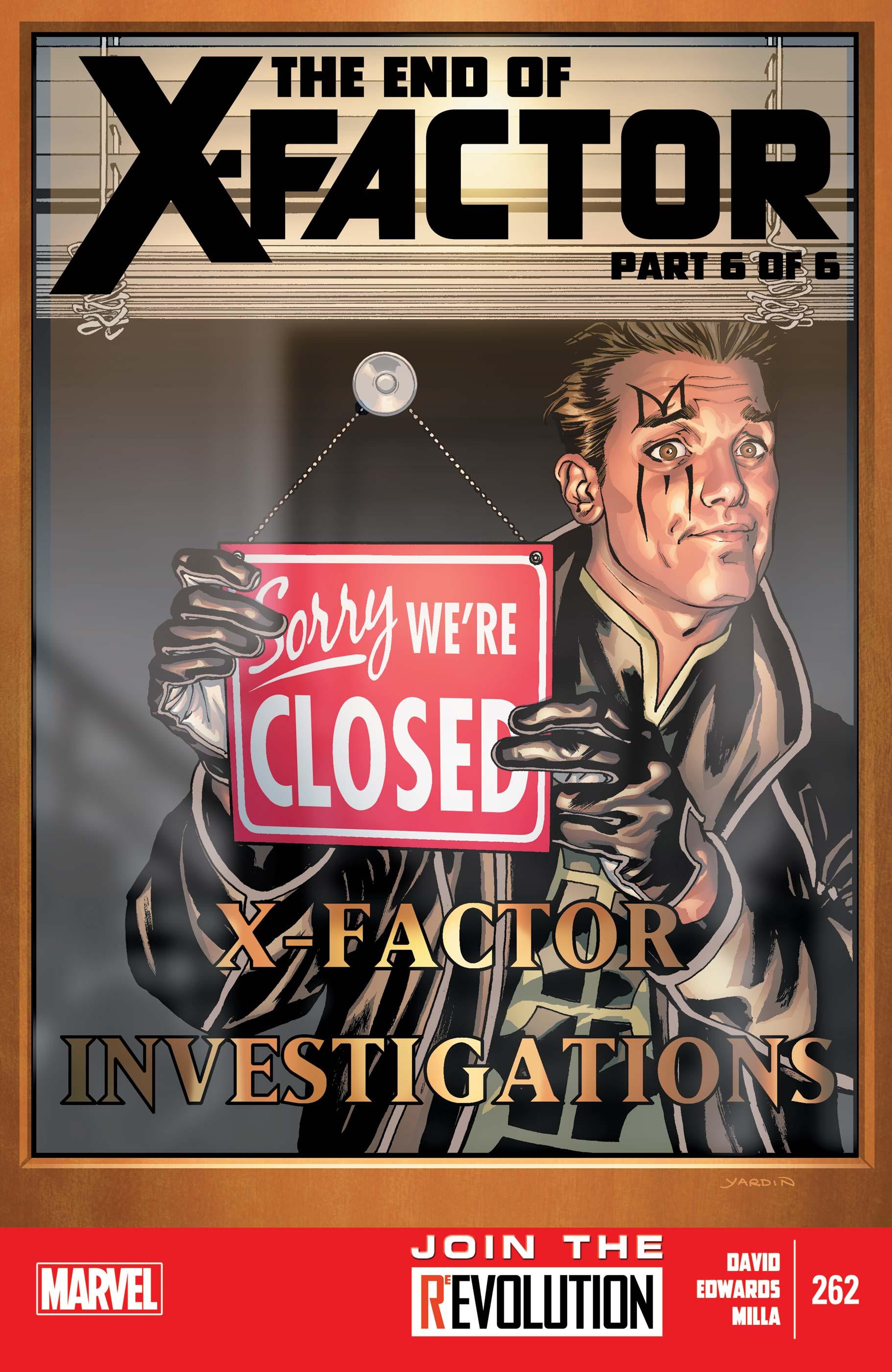 X-Factor (2005) #262