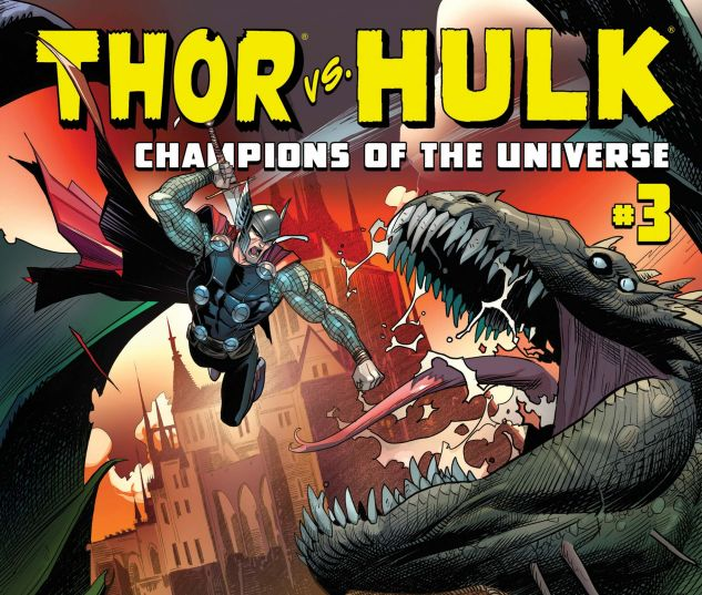 Thor & Hulk: CMX Digital Comic (2017) #3