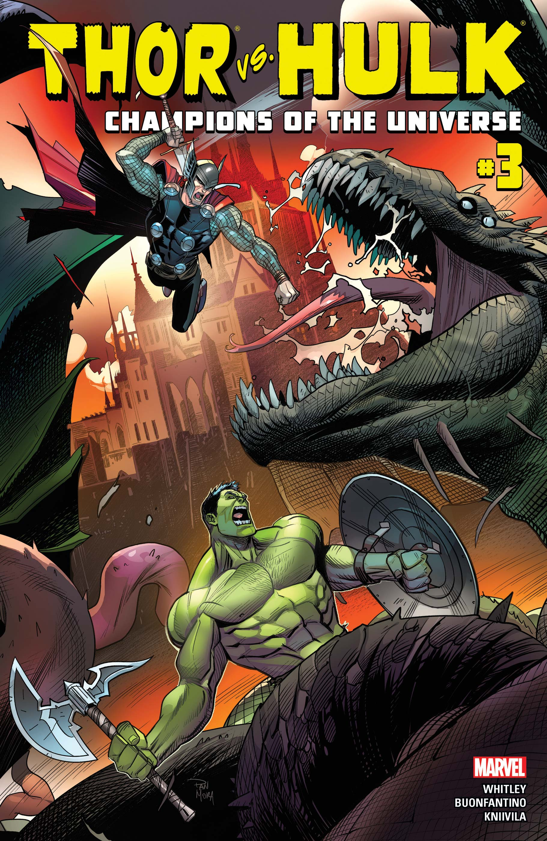 Thor Vs. Hulk - Champions of the Universe (2017) #3