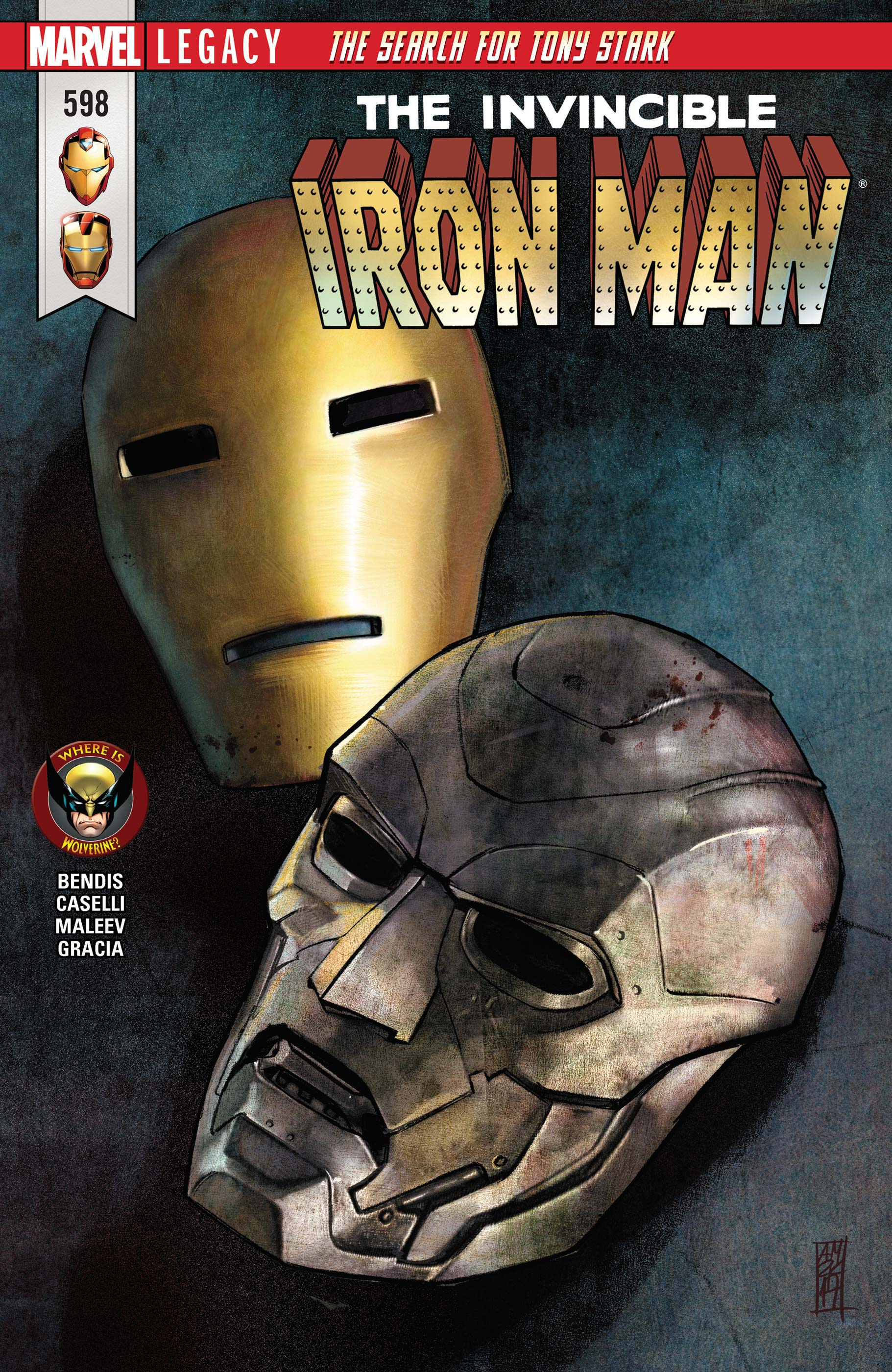 Invincible Iron Man (2016) #598