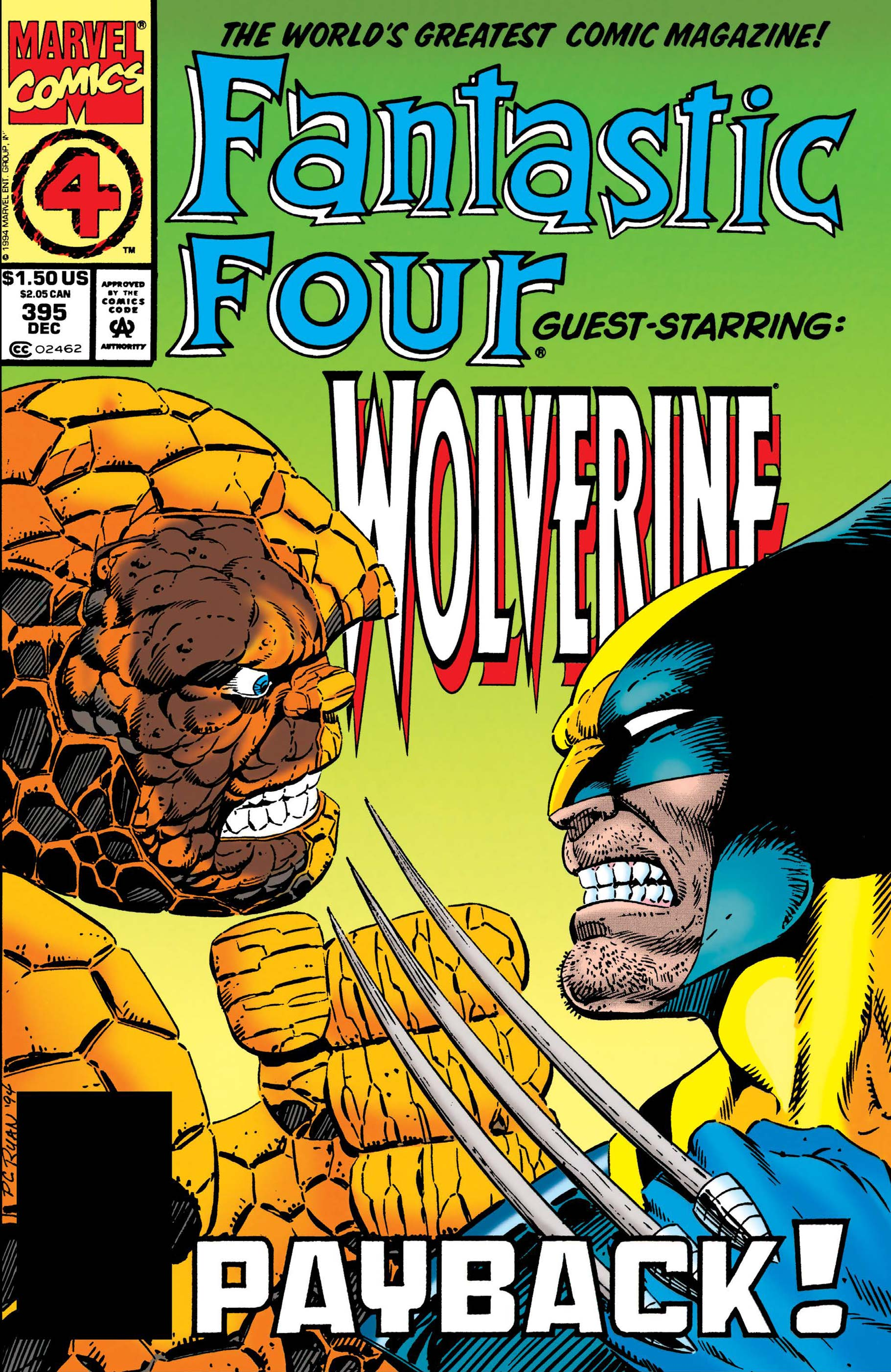 Fantastic Four (1961) #395