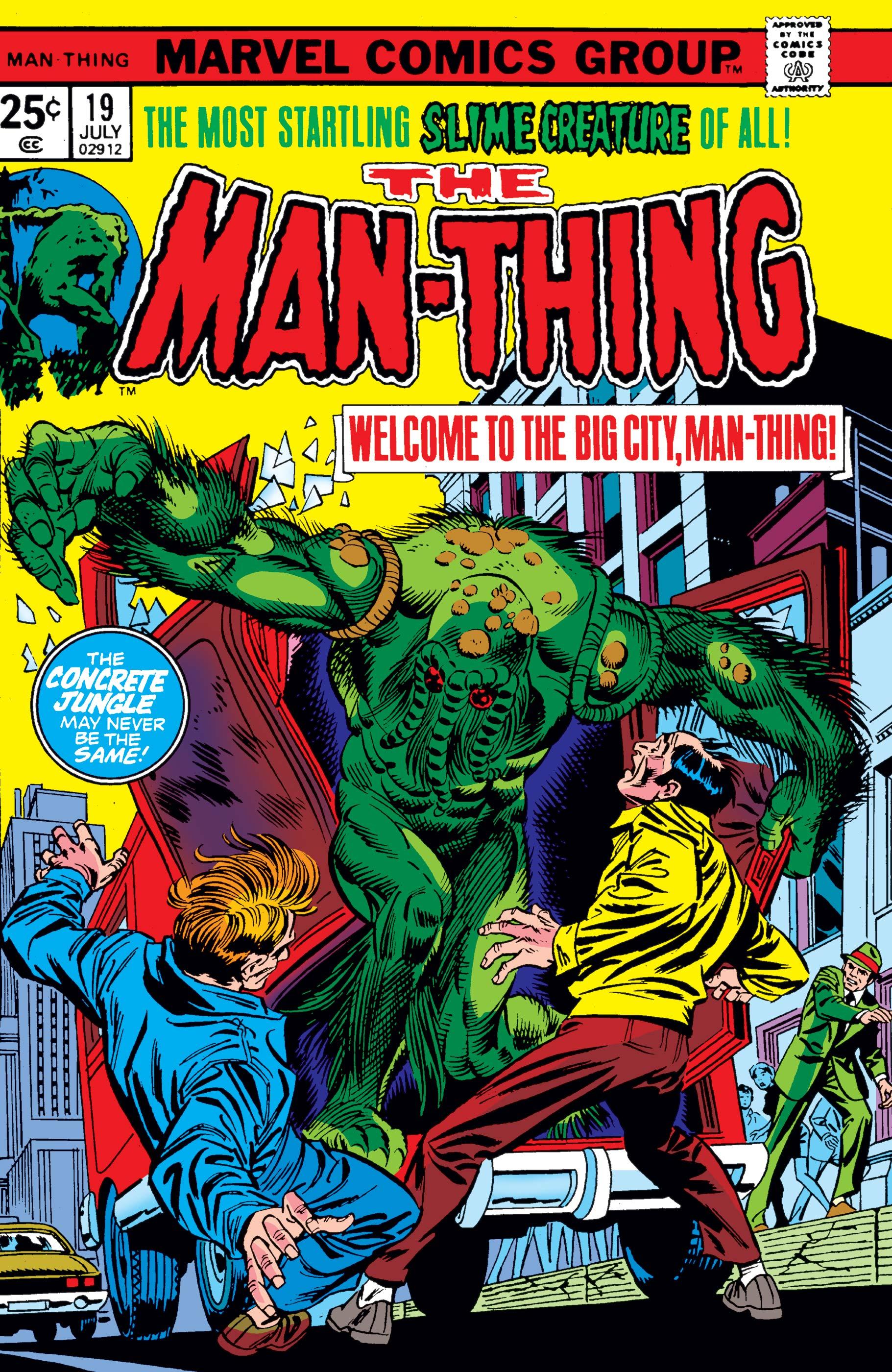Man-Thing (1974) #19