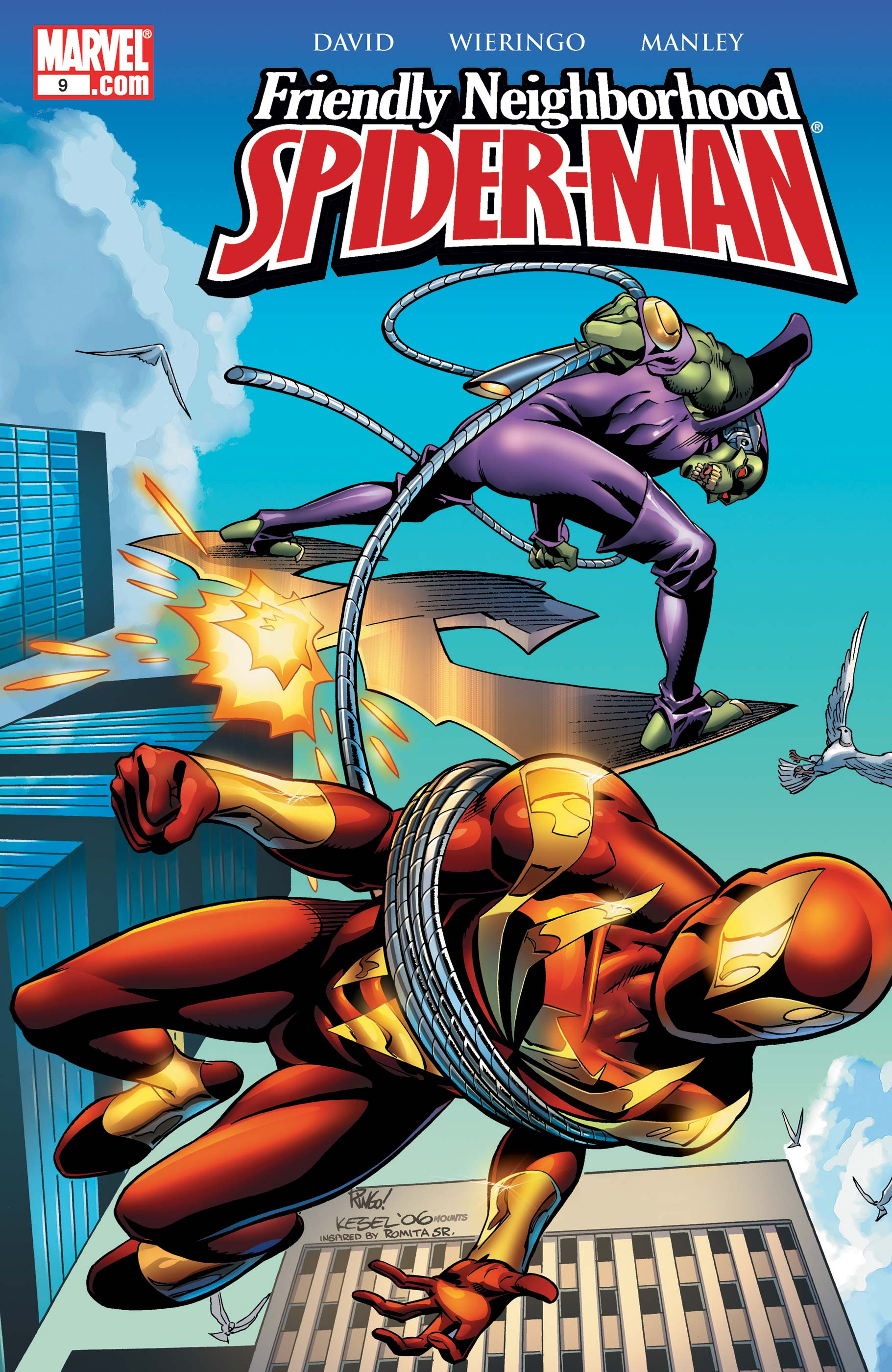 Friendly Neighborhood Spider-Man (2005) #9