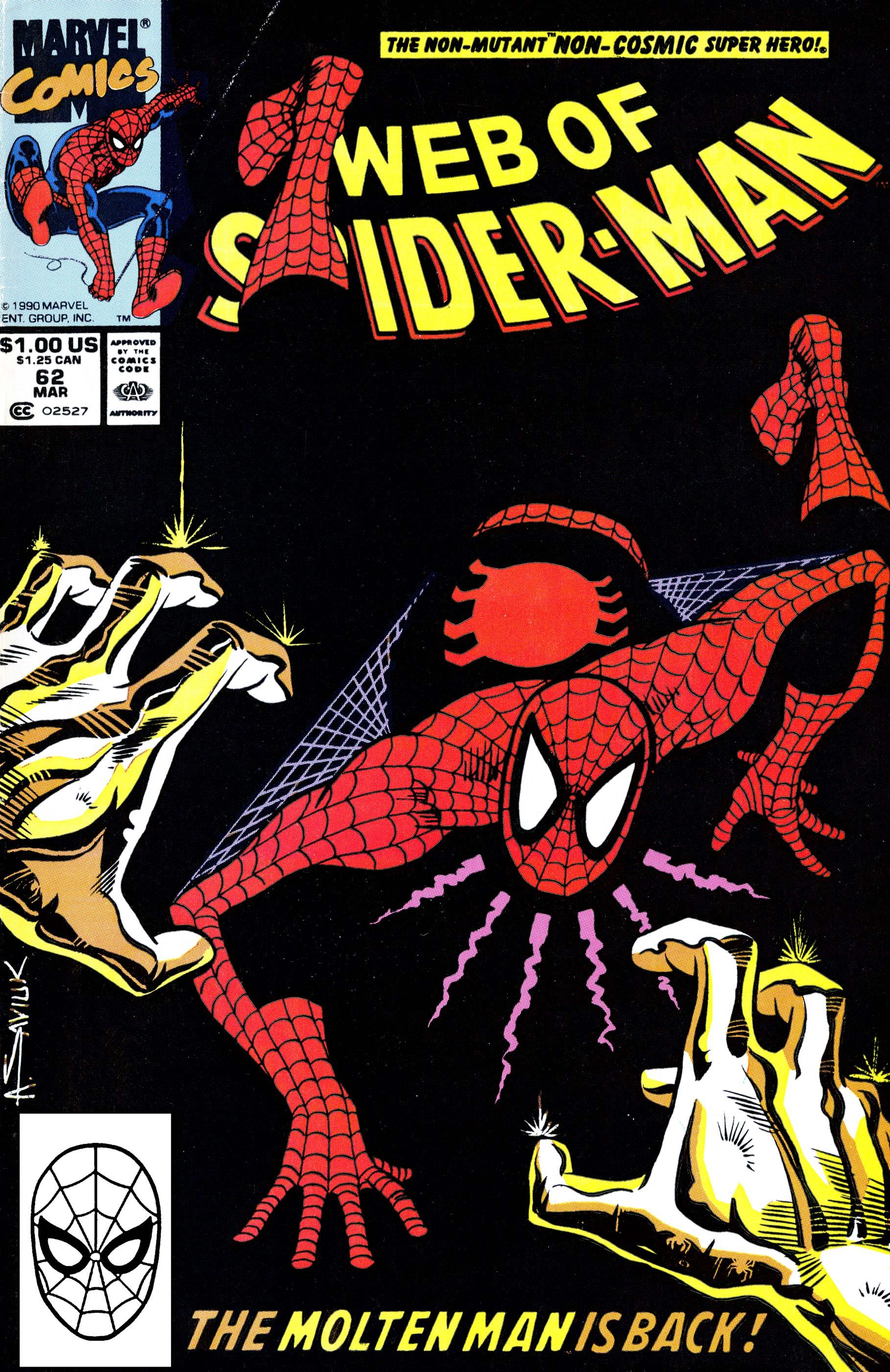 Web of Spider-Man (1985) #62