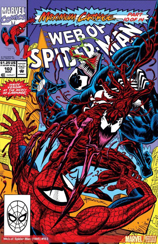 Web of Spider-Man (1985) #103