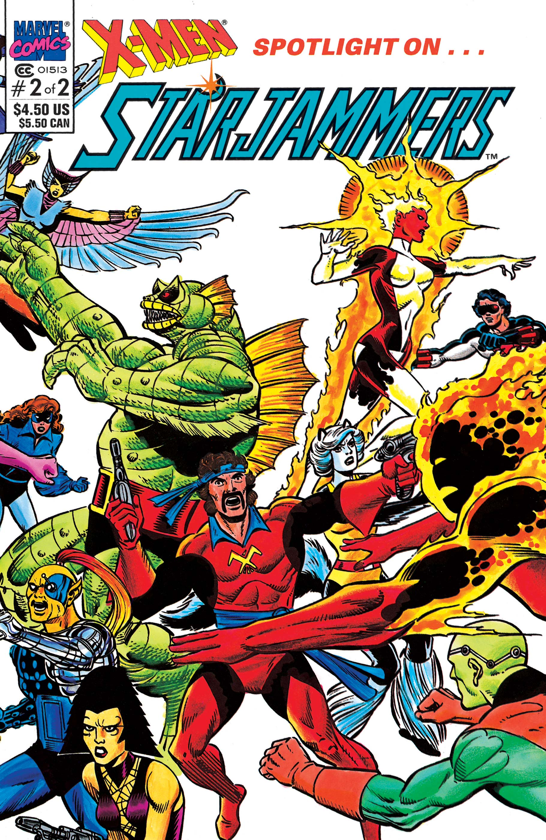 X-Men: Spotlight on Starjammers (1990) #2