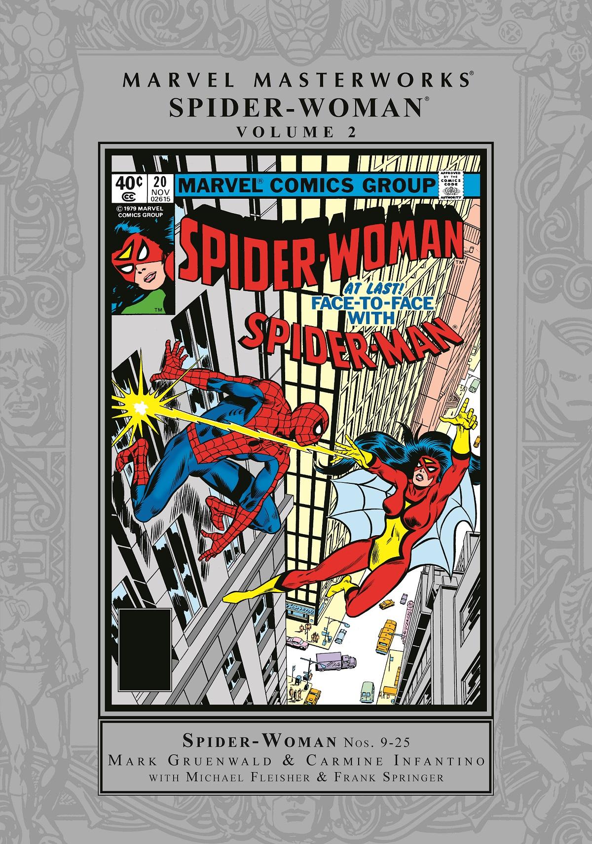 Marvel Masterworks: Spider-Woman Vol. 2 (Hardcover)