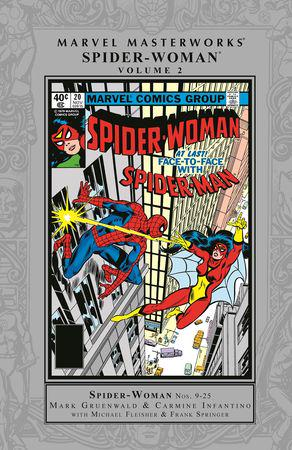Marvel Masterworks: Spider-Woman Vol. 2 (Hardcover)
