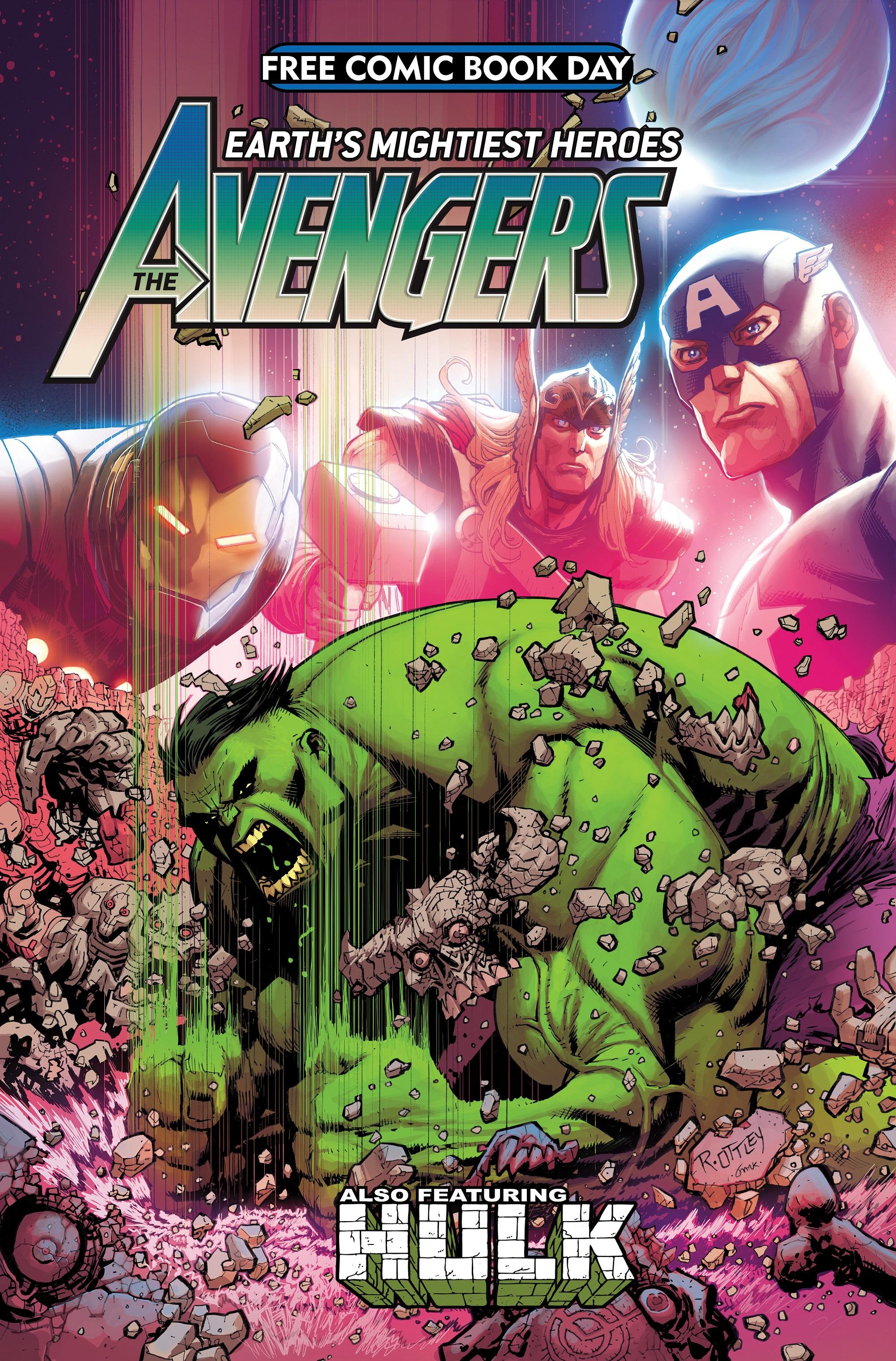 Free Comic Book Day: Avengers/Hulk (2021) #1