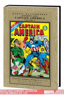 Marvel Masterworks: Golden Age Captain America Vol. 4 (Hardcover)