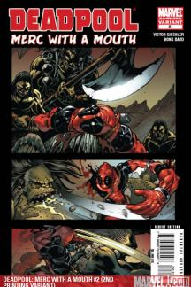 Deadpool: Merc with a Mouth (2009) #2 (2ND PRINTING VARIANT)