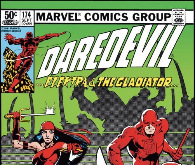 DAREDEVIL #174 COVER