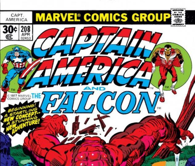 CAPTAIN AMERICA #208 COVER
