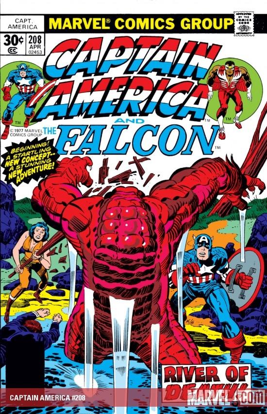 Captain America (1968) #208