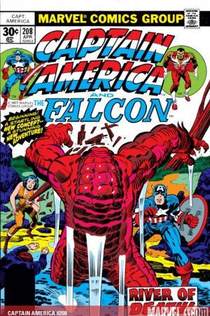 Captain America #208