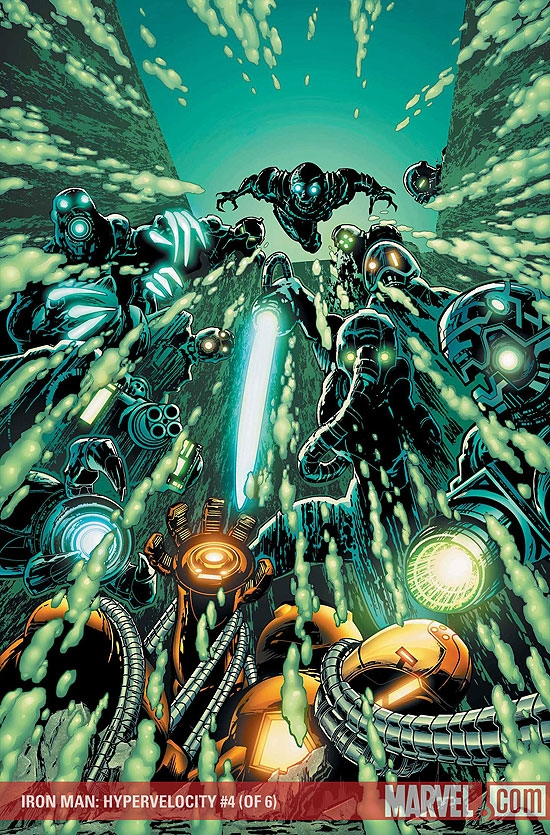 Iron Man: Hypervelocity (2007) #4