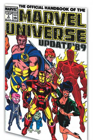 Essential Official Handbook of the Marvel Universe - Update 89 Vol. 1 (Trade Paperback)