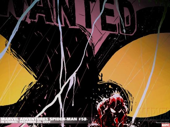 Marvel Adventures Spider-Man (2005) #58 Wallpaper