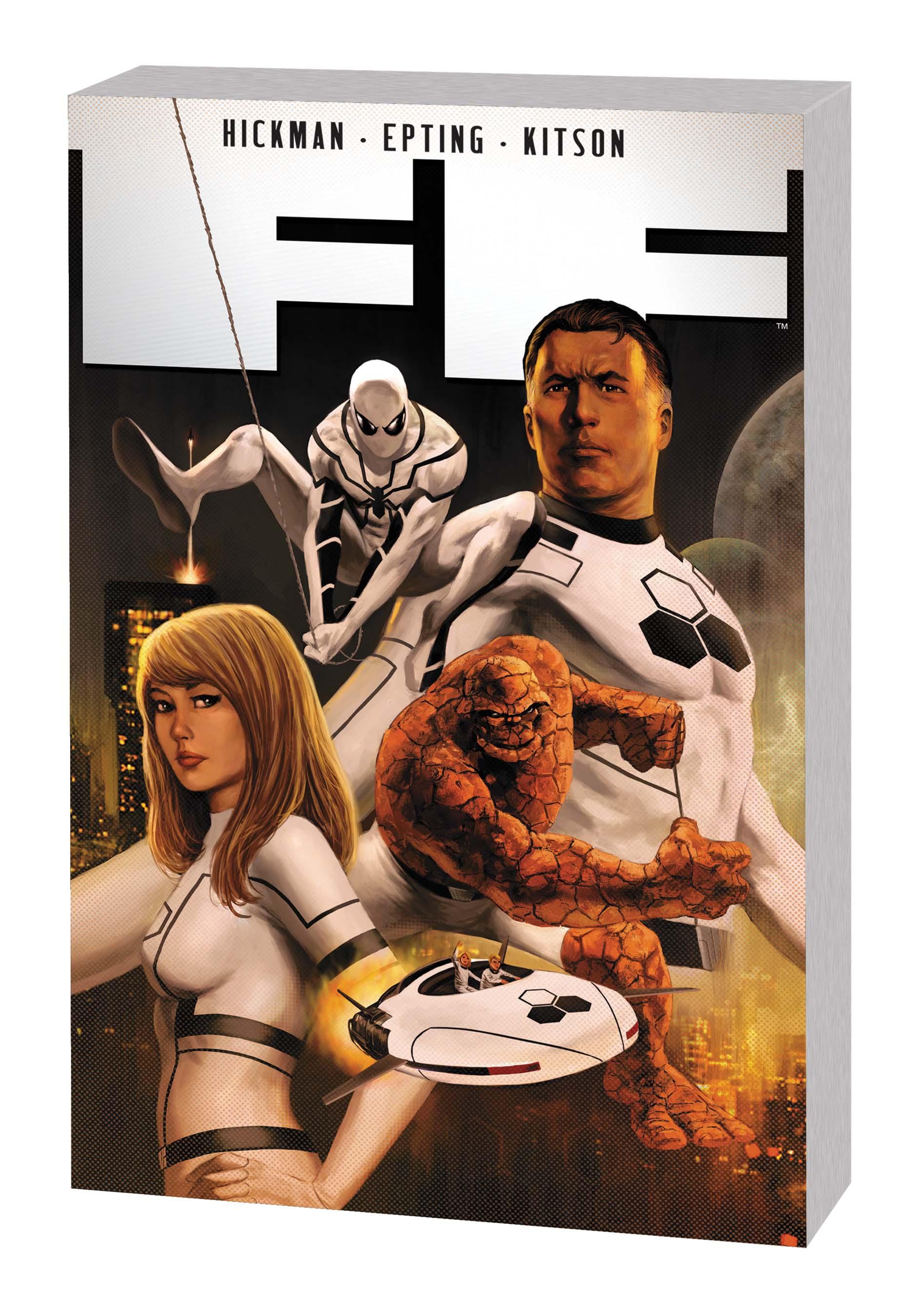 FF BY JONATHAN HICKMAN VOL. 1 TPB (Trade Paperback)