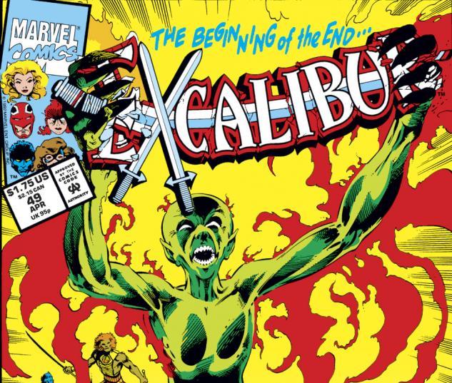 Excalibur (1988) #49 Cover